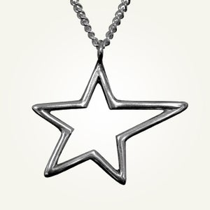 Image of Polaris Necklace, Sterling Silver