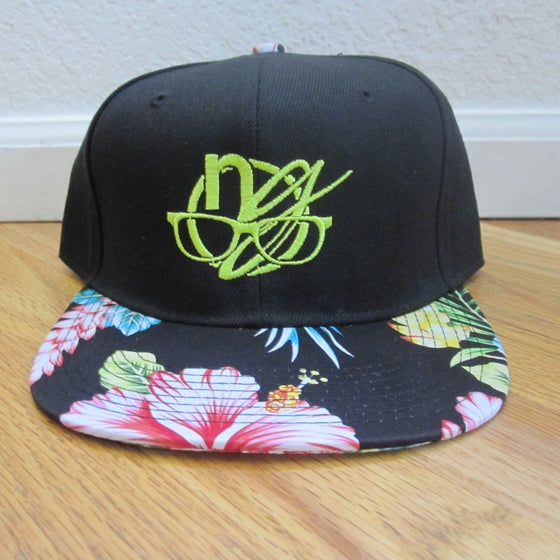Image of nerdy five-O logo. snapback