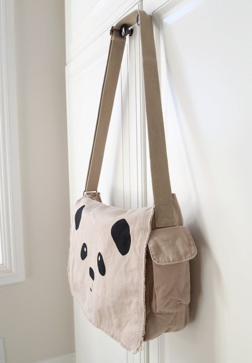 "Image of ""Panda Face"" Messenger Bag"