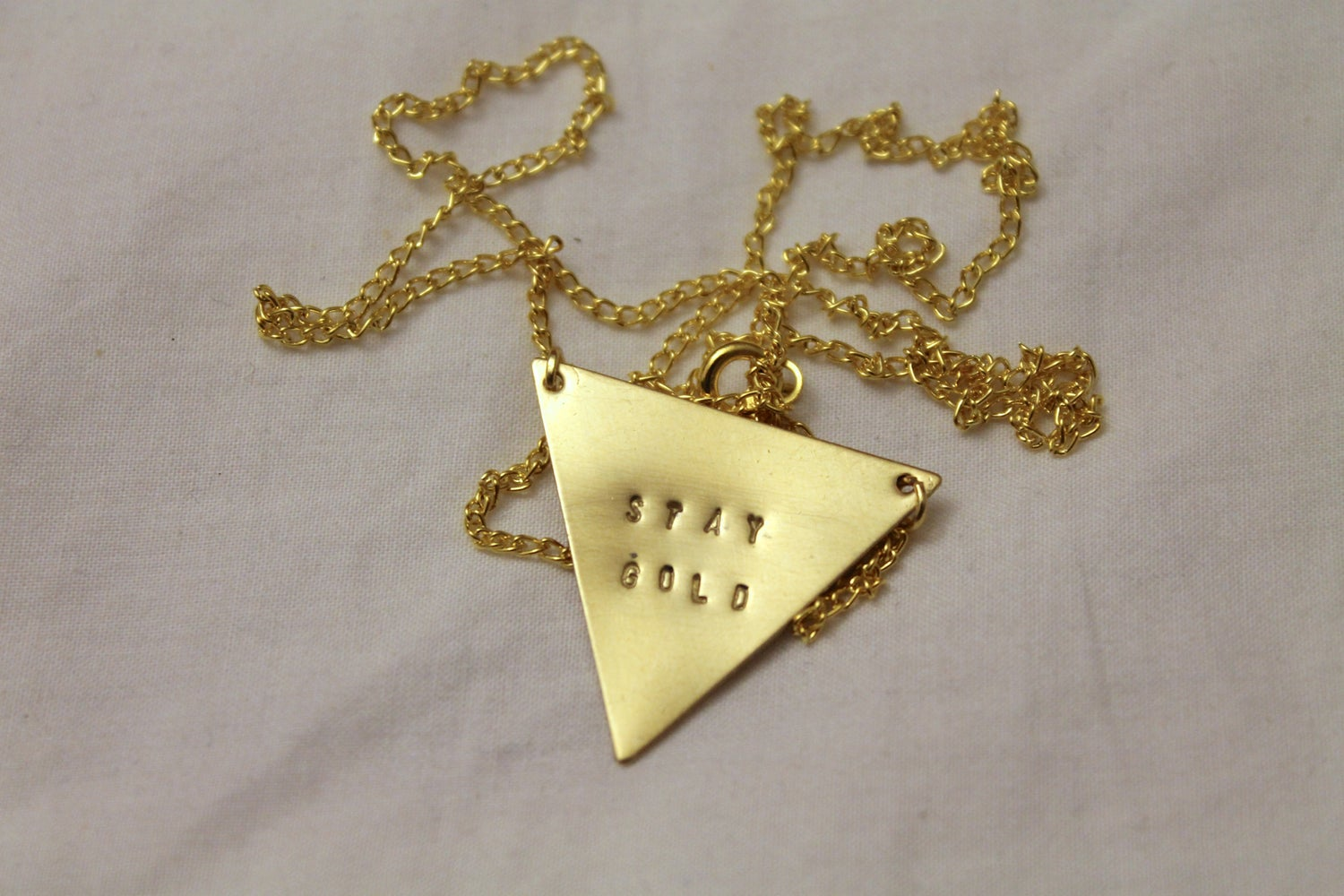 Image of Stay Gold Necklace (Originally $28)
