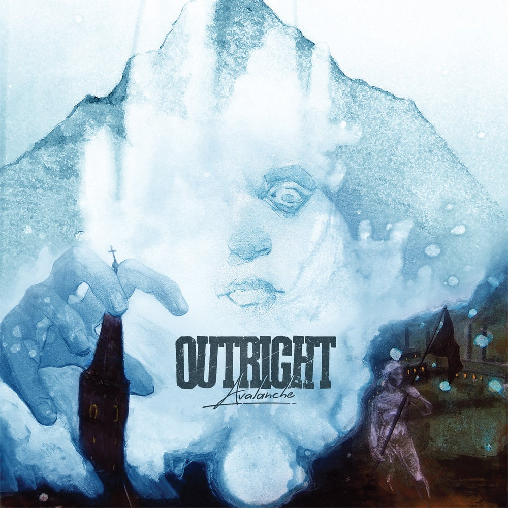 "Image of OUTRIGHT ""AVALANCHE"" LP"