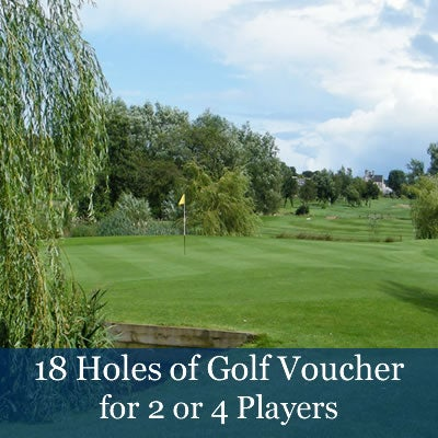 Image of 18 Holes of Golf Vouchers (£30 pp)