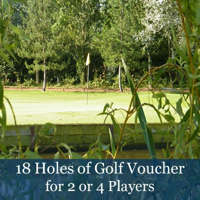 Image of 18 Holes of Golf Vouchers (£35pp)