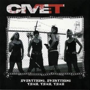 "Image of Civet ""Yeah x3"" Vinyl (2004)"