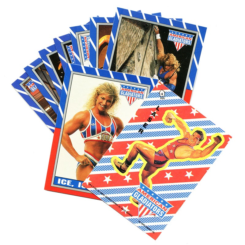 Image of AMERICAN GLADIATORS (TV) TRADING CARDS 1991