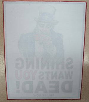 "Image of Shining ""Uncle Kvarforth"" back patch"
