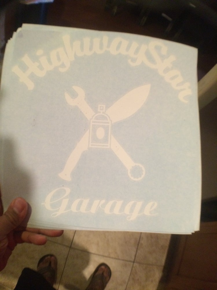 "Image of HighwayStar 10"" Door logo"