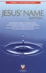 Image of Jesus' Name Baptism - Tract