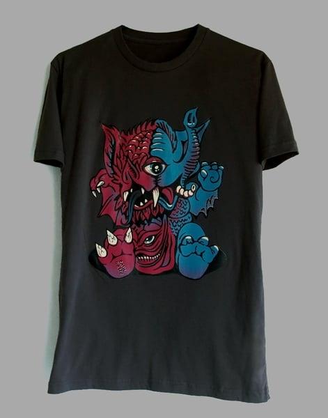 Image of Mutant Baby Shirt: Charcoal