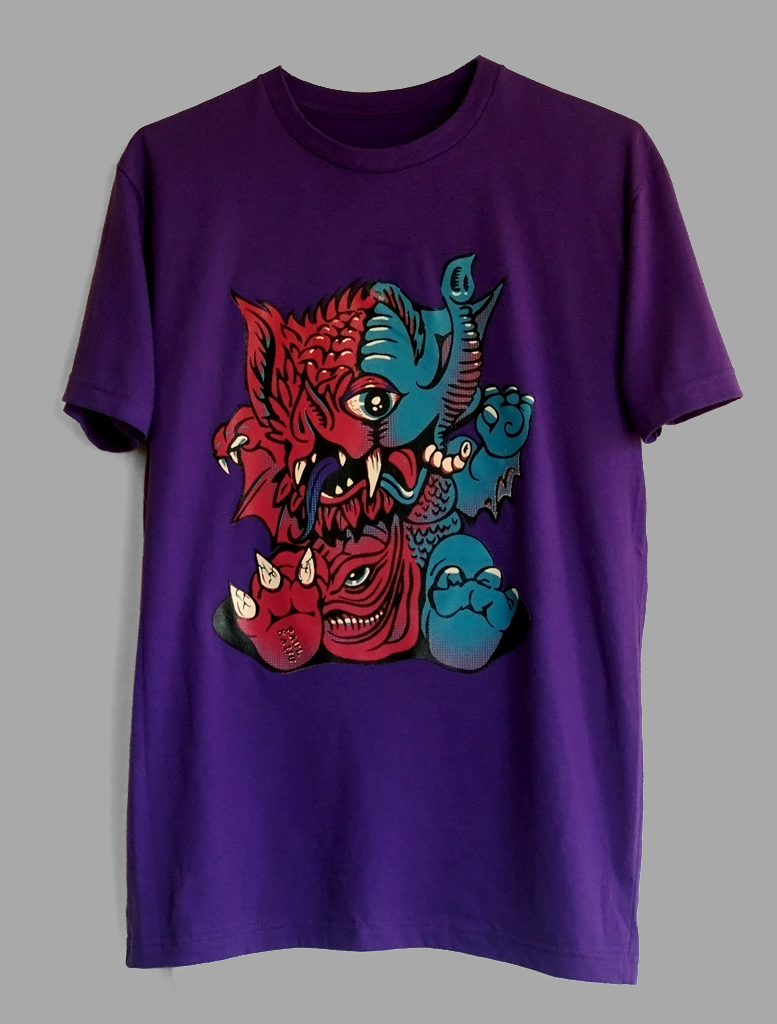 Image of Mutant Baby Shirt: Purple