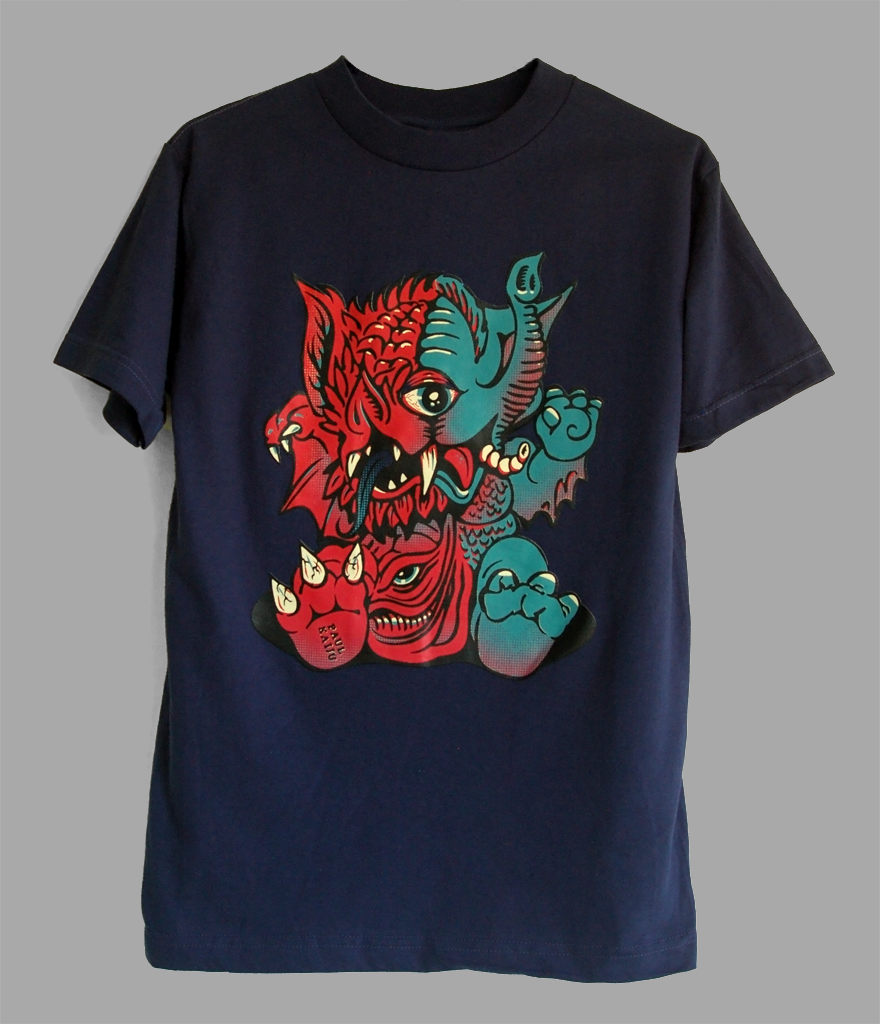 Image of Mutant Baby Shirt: Navy Blue