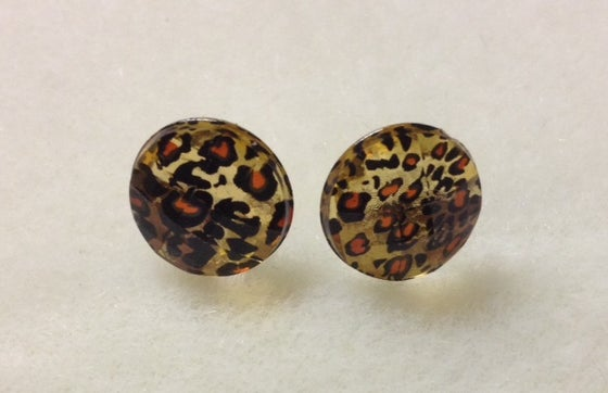Image of CH-CH-CHEETAH STUDS