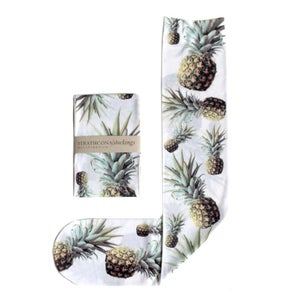 Image of White Pineapple Socks