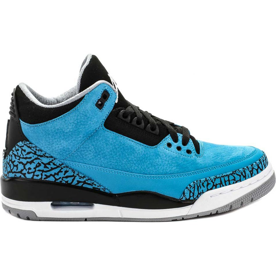 sports shoes 16368 3fa56 Image of Air Jordan 3 Powder Blue