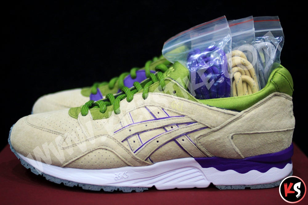 "Image of CNCPTS x Asics Gel Lyte V ""Pistachio"" (Concepts Special Edition)"