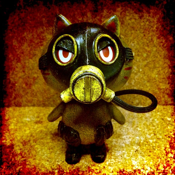 Image of Gasmask Maman!! (yellow) - soldout