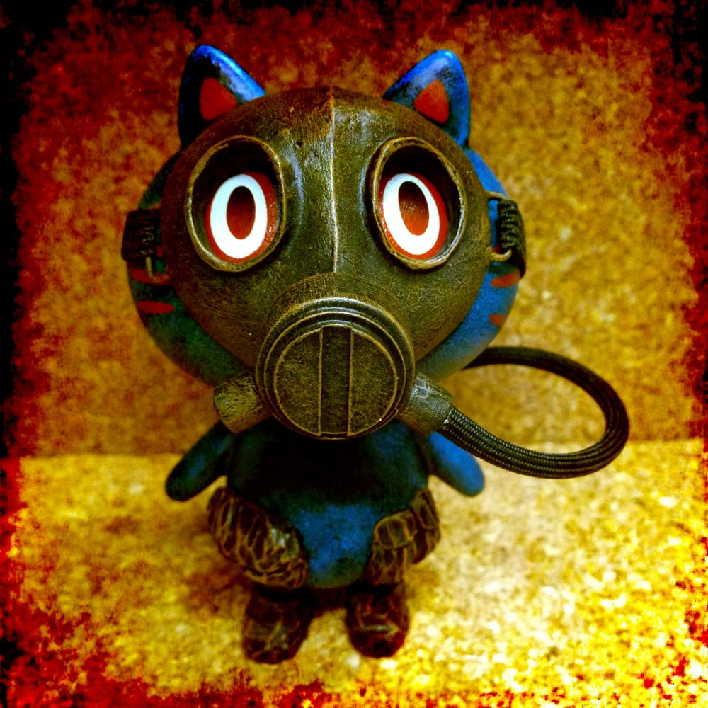 Image of Gasmask Maman!! (blue) - soldout