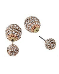 Image of Double Orb Earrings