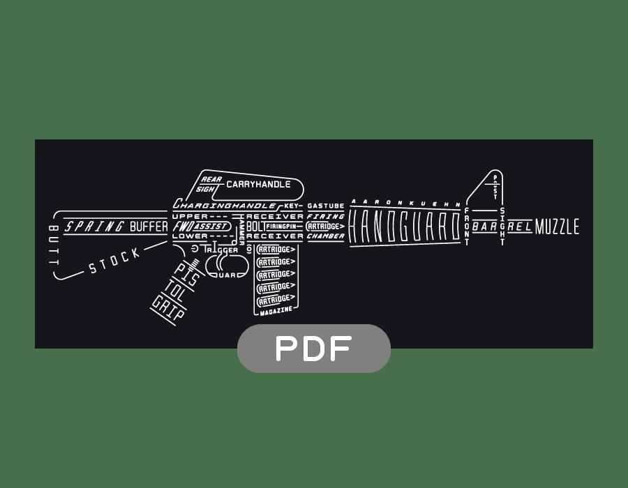 Image of Rifle Typogram - PDF
