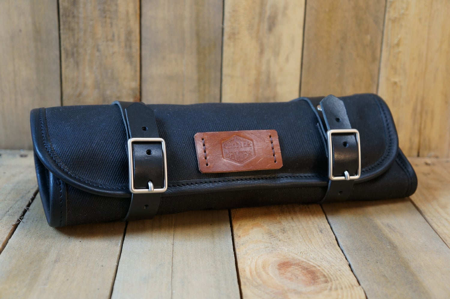 Image of Waxed Cotton Tool Roll