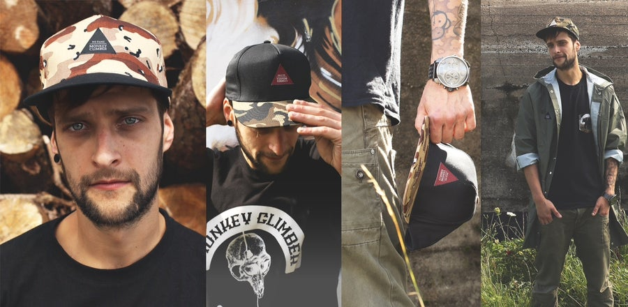 Image of Monkey Climber No Fame Snapback