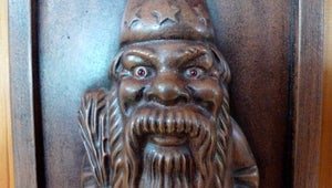 Image of Lucky Gnome With Garnet Eyes