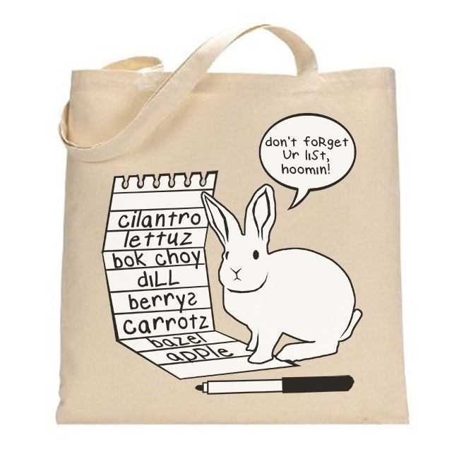 Image of Grocery List Tote