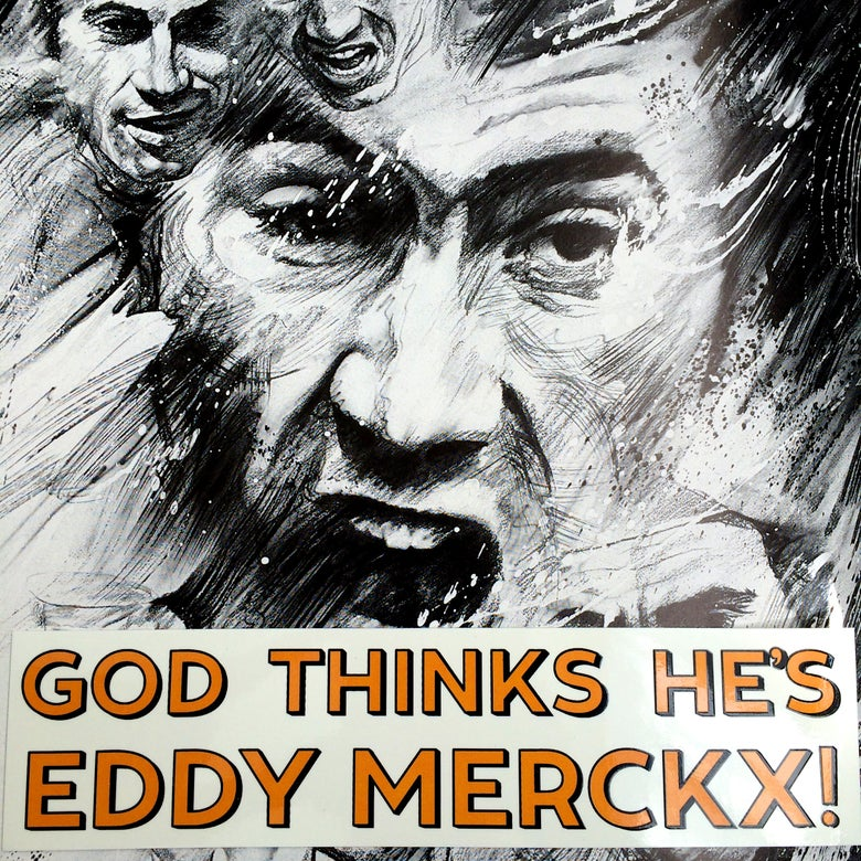 "Image of ""Merckx > God"" stickers"