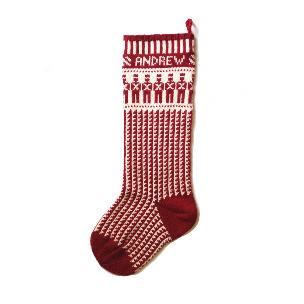 Toy Soldier Christmas Stocking (two color)