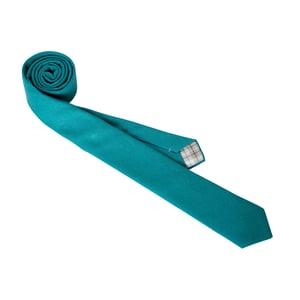 Image of Teal Linen Necktie