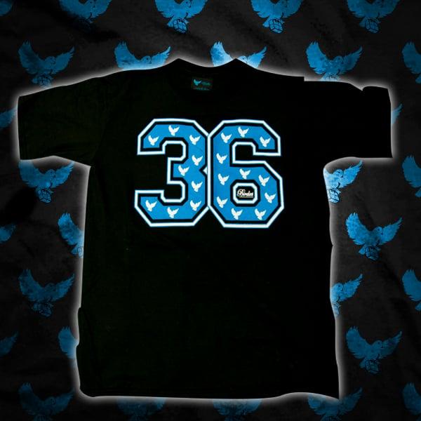 Image of Blue/White 36 T Shirt