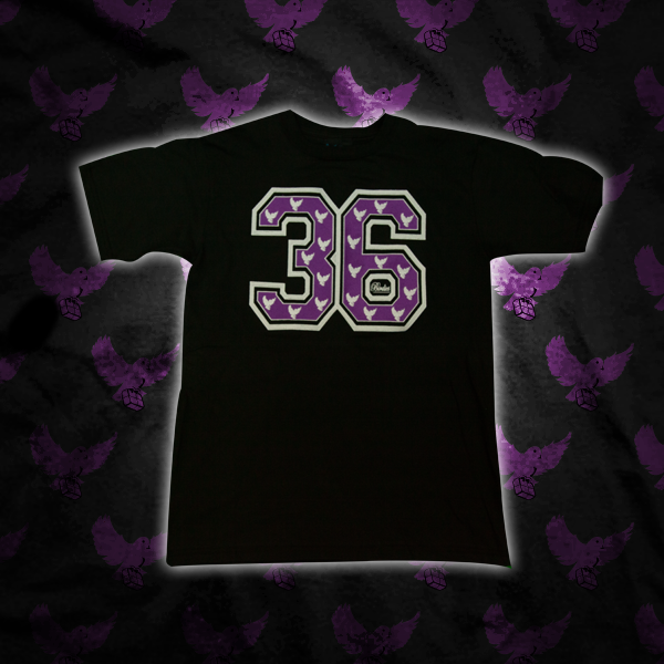 Image of White/Purple 36 T Shirt