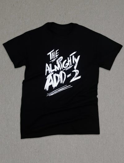 "Image of ""Almighty Add-2"" T-Shirt (BLACK)"