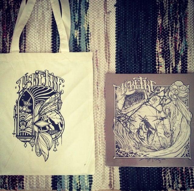Image of Melas vinyl + Tote bag