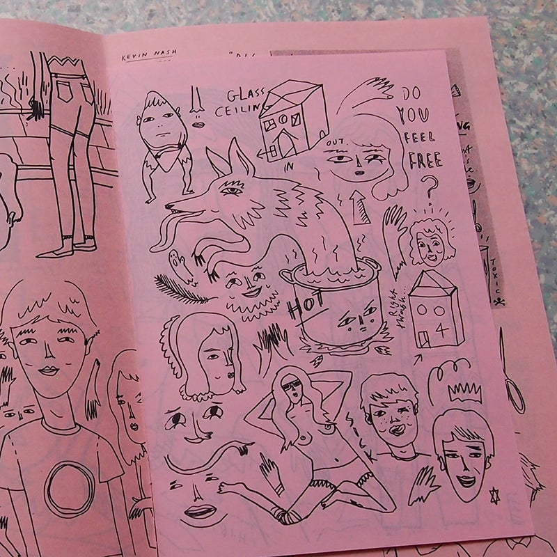 Image of  POWDER PINK MAGIC ZINE - by Bunny Bissoux