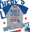 THERES LEVELS TO THIS BOWLING SH*T - ROYAL BLUE & GREY