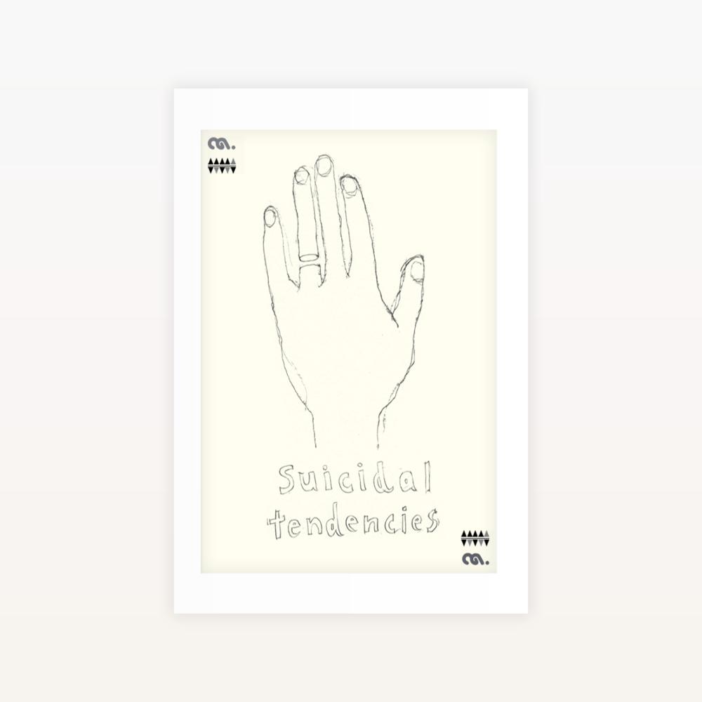 Suicidal Tendencies - Ltd edition Screen print