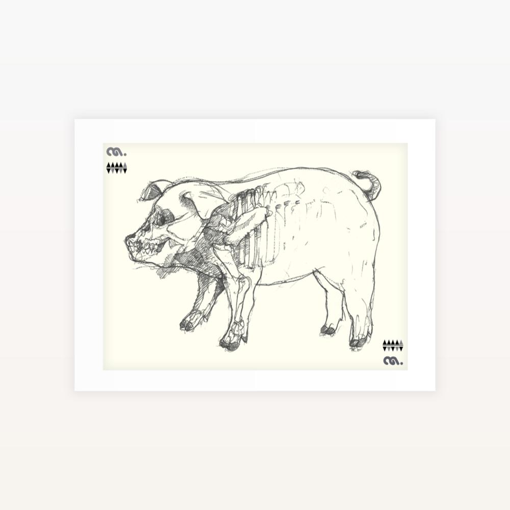 Piggy - Ltd edition Screen print