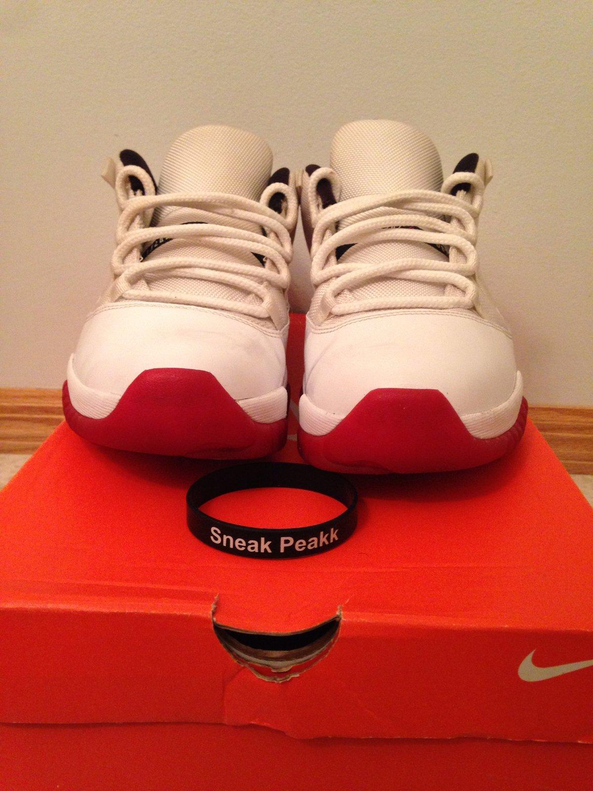Nike Air Jordan 11 Low Cherry Size 12