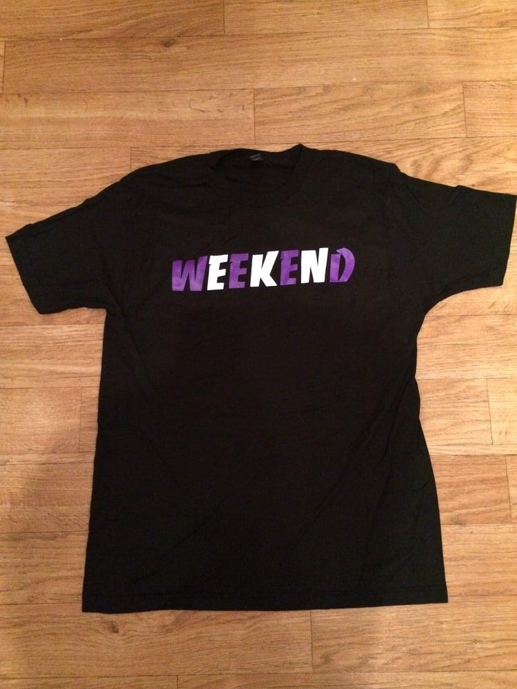 Image of Weekend Purple T-Shirt