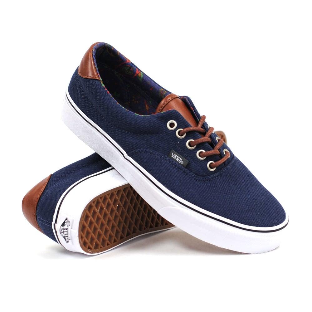 fec7370e3d00 Image of Vans C L Era 59 dress blue  paisley