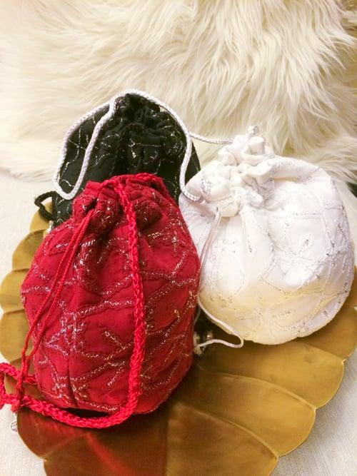 Image of Handmade potli purse