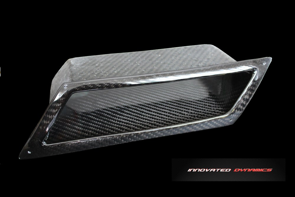 Innovated Dynamics — Innovated Dynamics Front Bumper Air Intake Duct