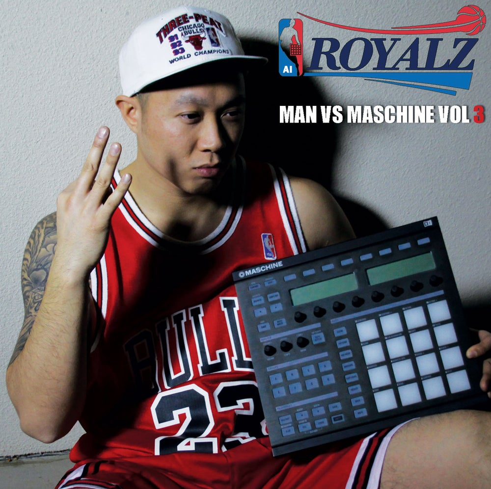 "Image of ""Man Vs Maschine Vol 3"" Royalz. FREE DOWNLOAD"