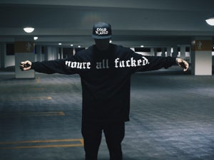 Image of Youre All Fucked Longsleeve