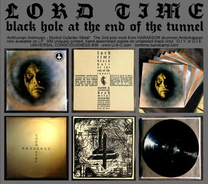 Image of LORD TIME - Black Hole At The End Of The Tunnel LP