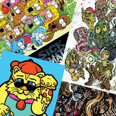 Mini-Poster Bundle - Sick Animation Shop