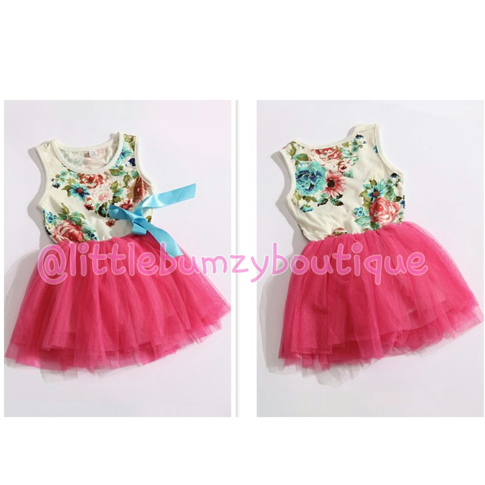 Image of Floral TuTu Dress