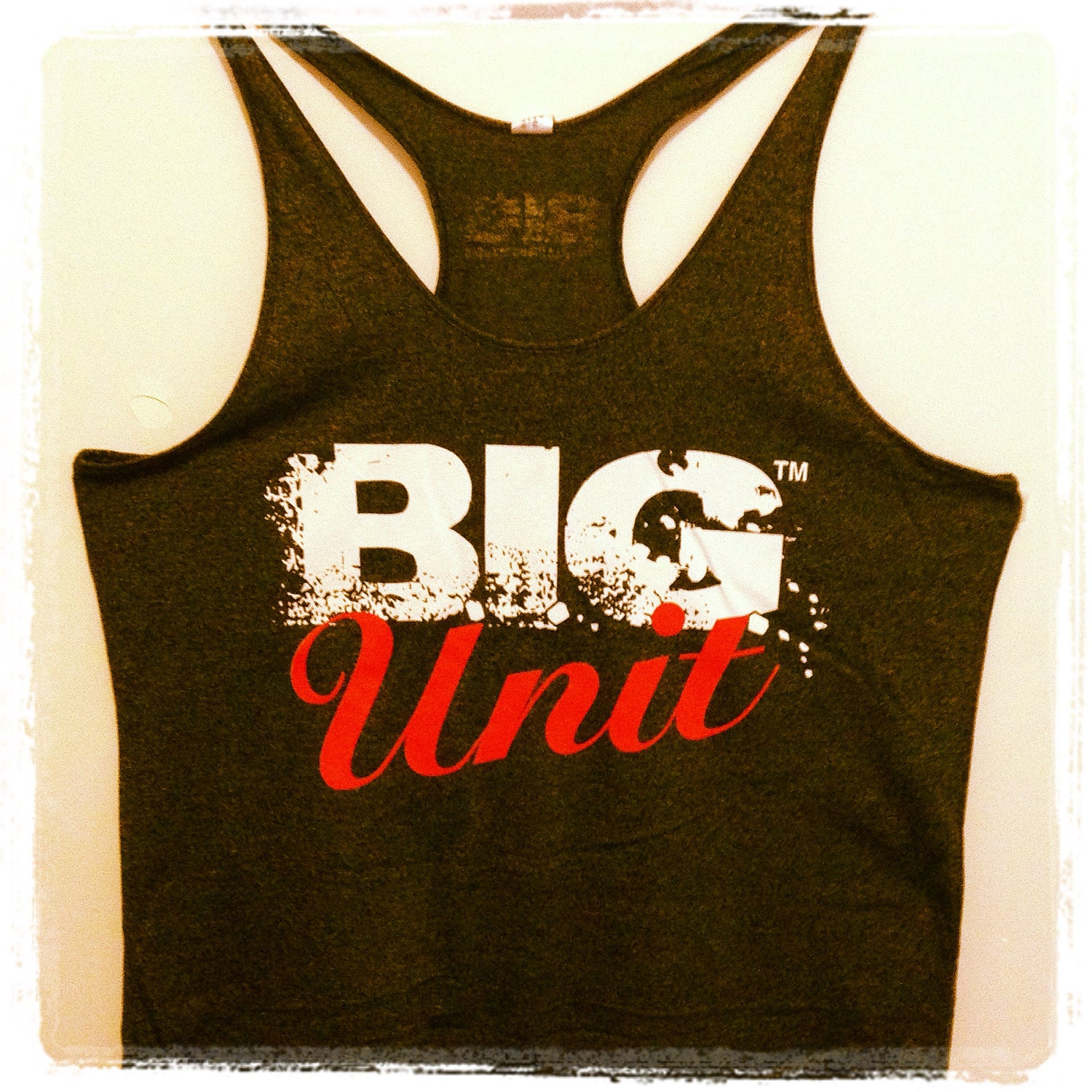 Image of B.I.G UNIT ATHLETIC T-BACK SINGLET