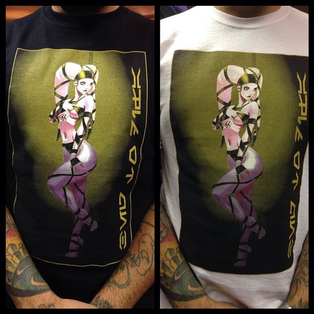 Image of Matt Difa Twi'lek stripper tees